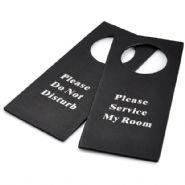 Faux Leather Do Not Disturb (DND) Signs (case of 10)